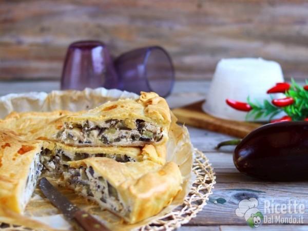 Ricetta Torta rustica con le melanzane