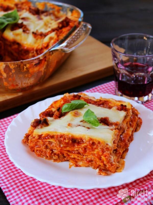 Ricetta classica delle lasagne alla bolognese