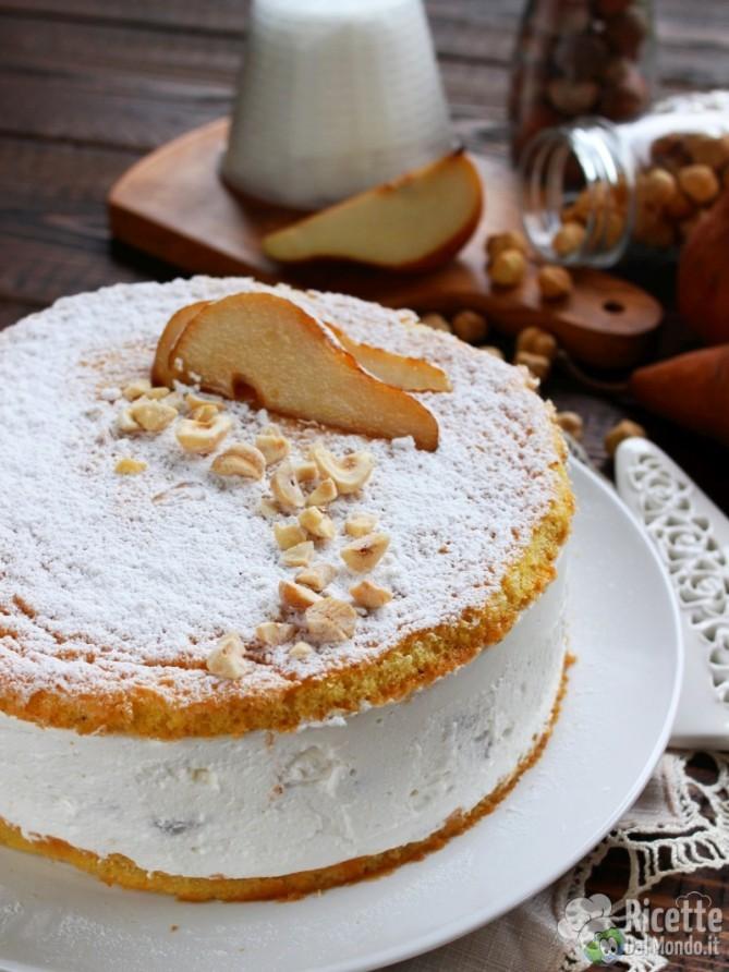 Ricetta originale torta ricotta e pere