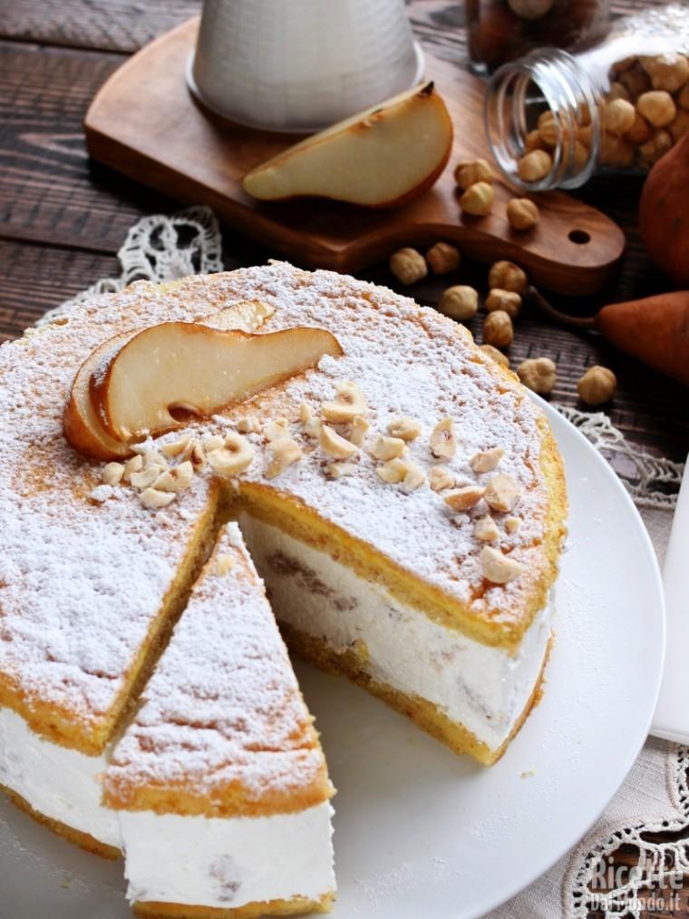 Come fare la torta ricotta e pere