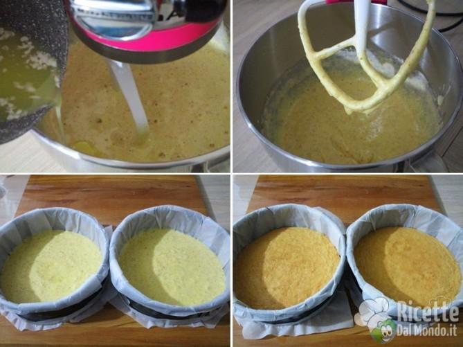 Torta fredda ricotta e pere 5