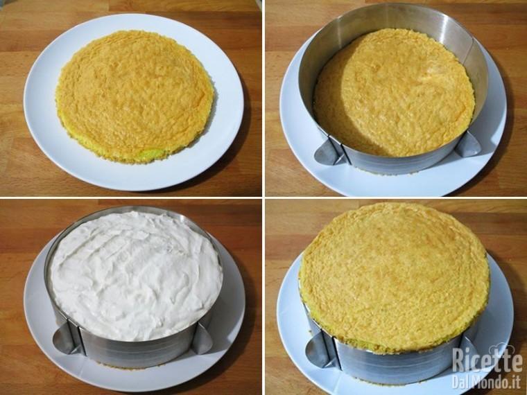 Torta fredda ricotta e pere 9