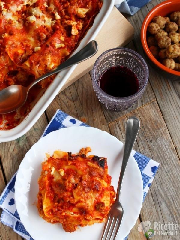 Come fare la lasagna napoletana