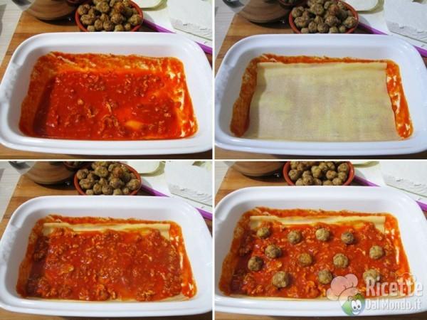 Lasagne al forno napoletane 6