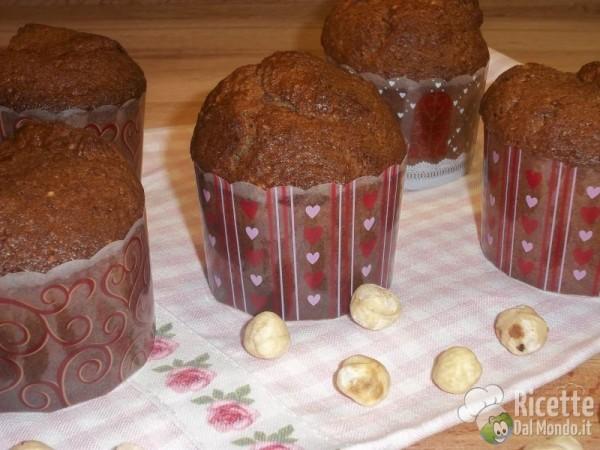 Muffin Nocciole e Nutella