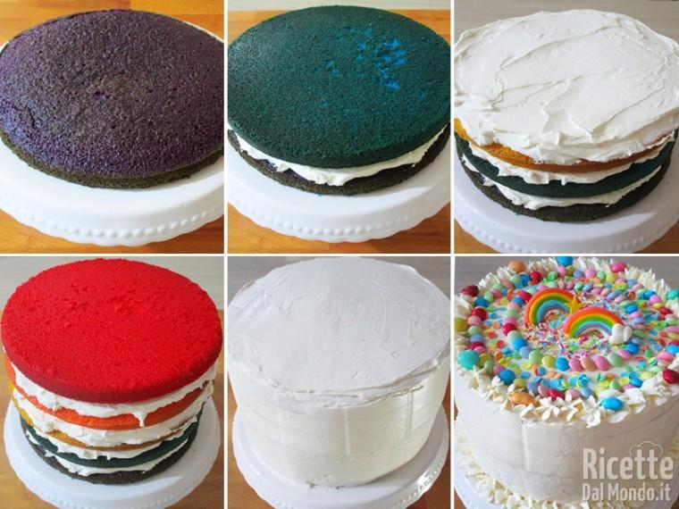Assemblate la torta
