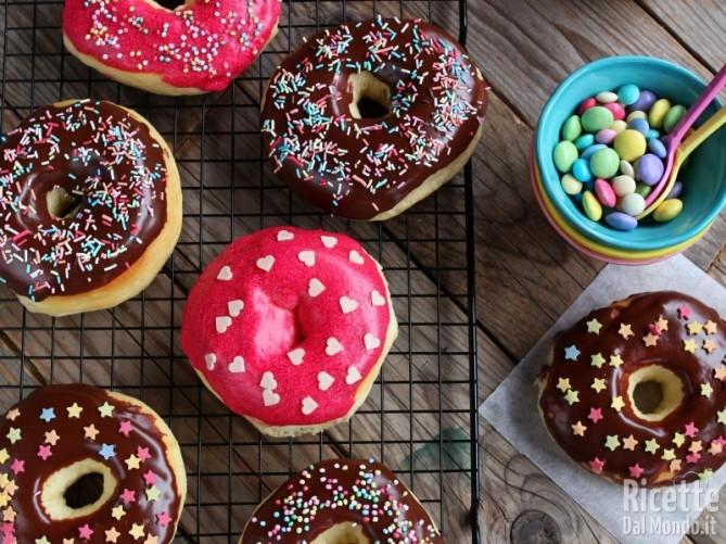 Ricetta donuts - doughnuts