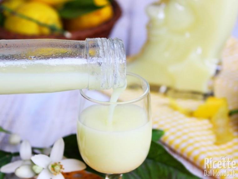 Ricetta crema di limoncello