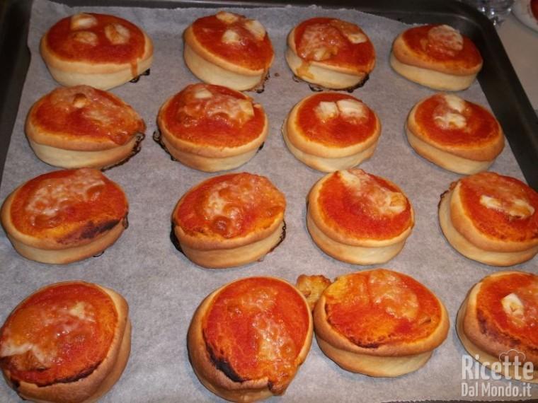 Pizzette Aperitivo da Bar