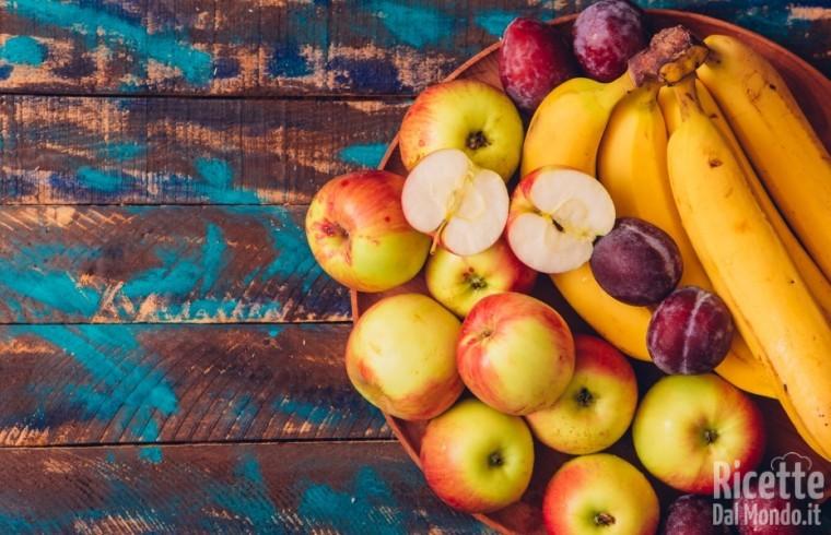 Come sostituire le uova: frutta