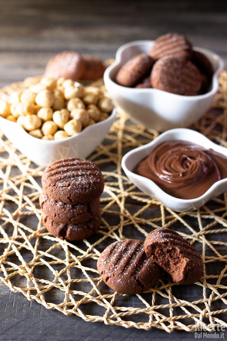 Biscotti veloci alla Nutella 4