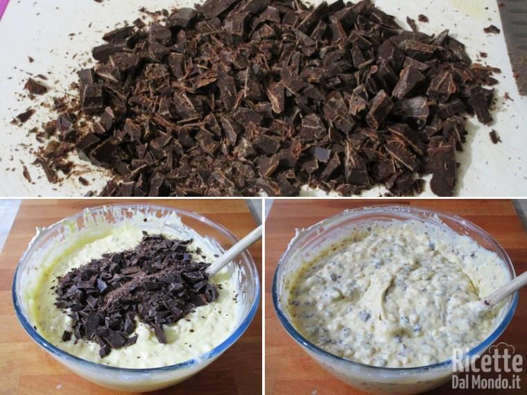Crema per pastiera al cioccolato 6