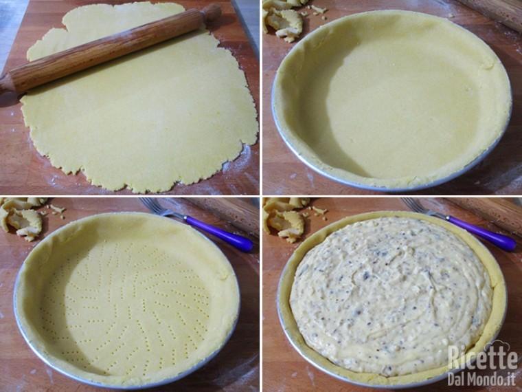 Crema per pastiera al cioccolato 8