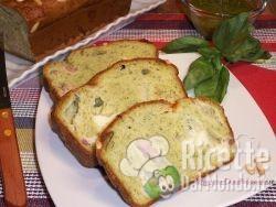 Plumcake al Pesto