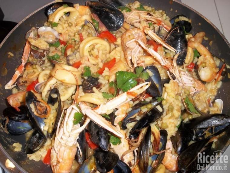 Paella de Marisco (o ai Frutti di Mare)