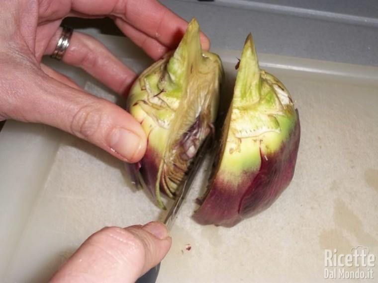 Come Pulire e Tagliare i Carciofi
