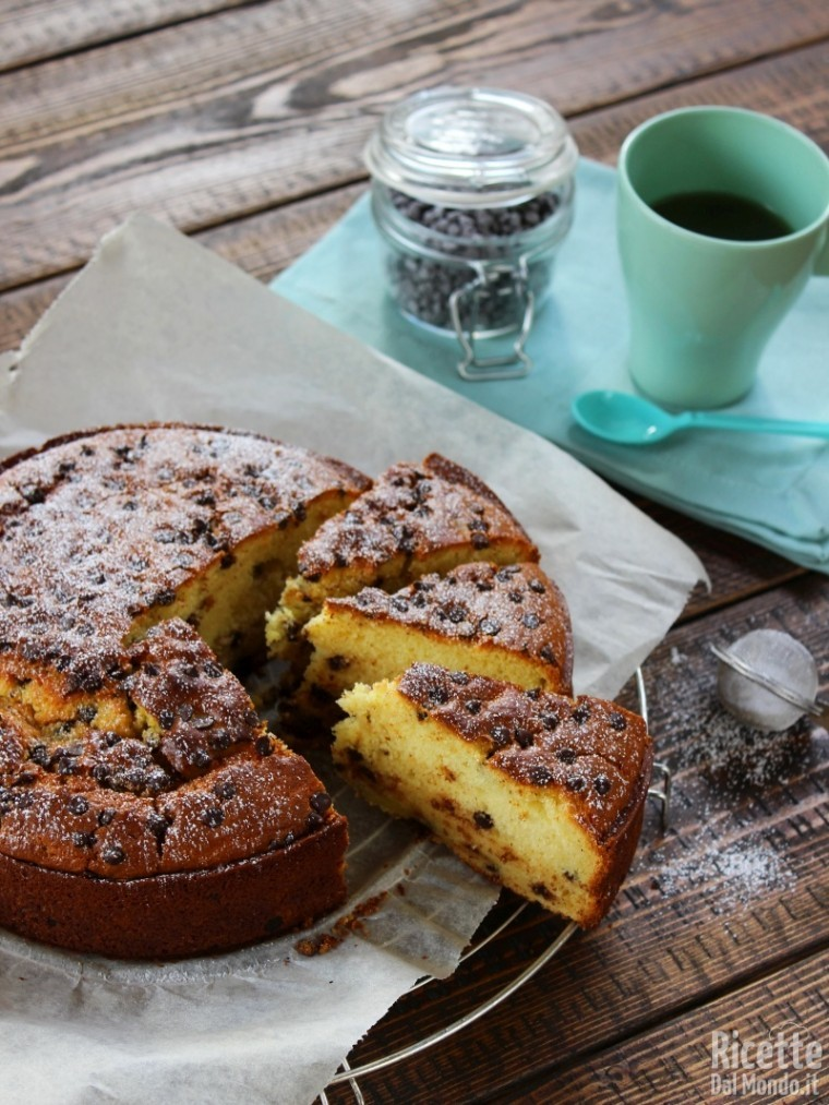 Come fare la torta ricotta e cioccolato