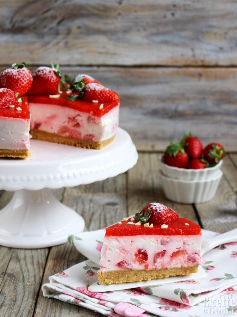 Come fare la cheesecake alle fragole