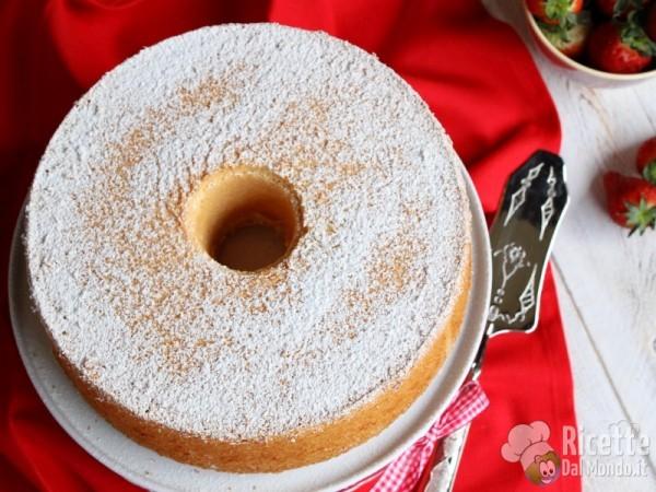 Angel cake - angel food cake