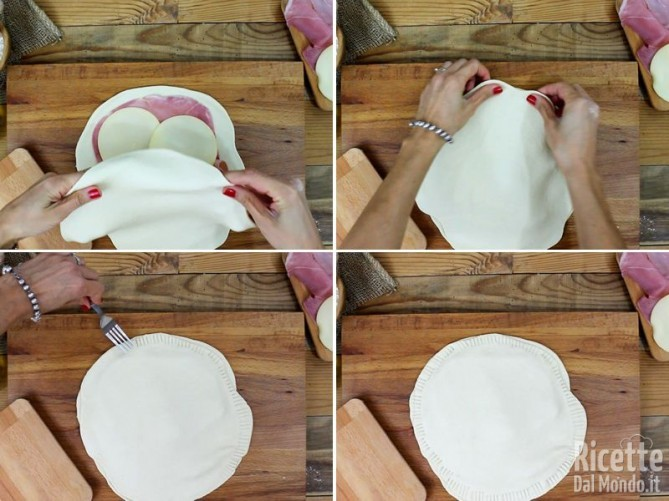 Focaccia senza lievitazione cotta in padella 6