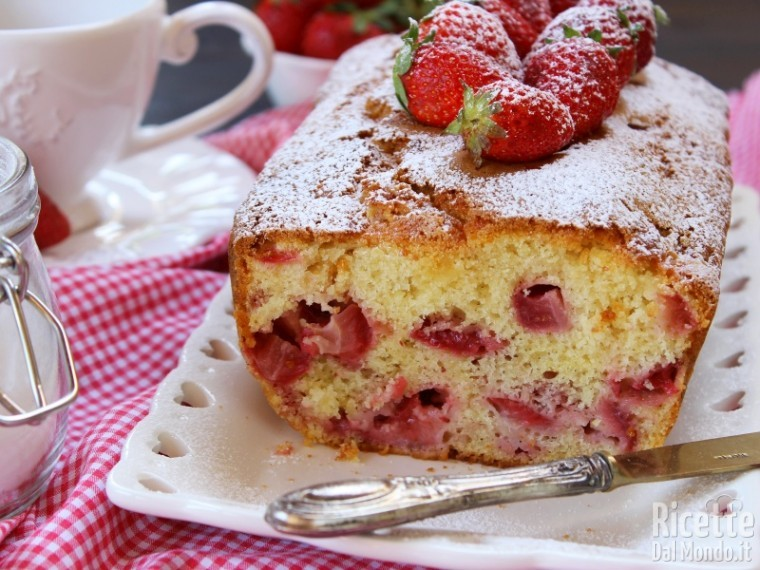 Ricetta plumcake alle fragole