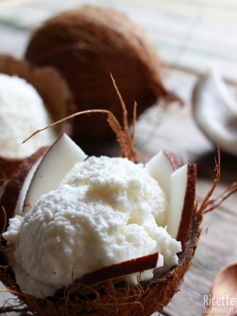 Come fare il gelato al cocco