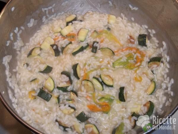 Risotto con le zucchine 12