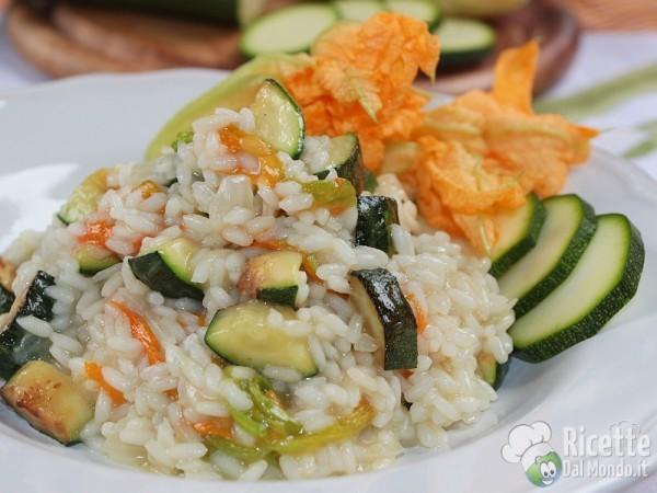 Ricetta risotto con le zucchine