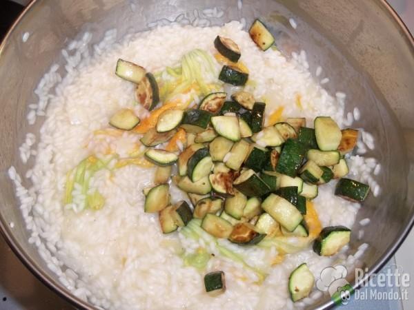 Risotto con le zucchine 11