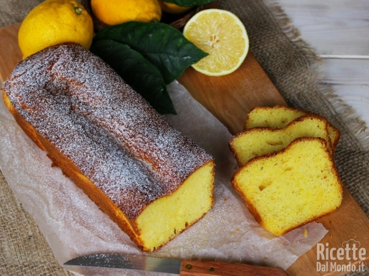 Plumcake al limone soffice