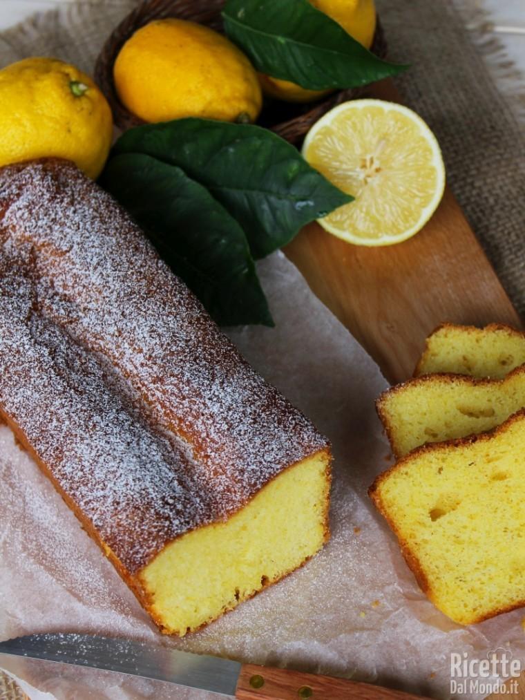 Ricetta plumcake al limone soffice