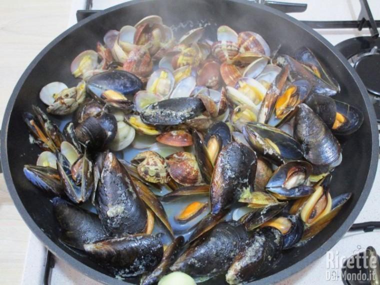 Risotto alla pescatora ai frutti di mare 4