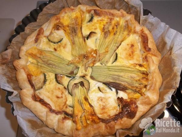Torta Salata di Zucchine 9