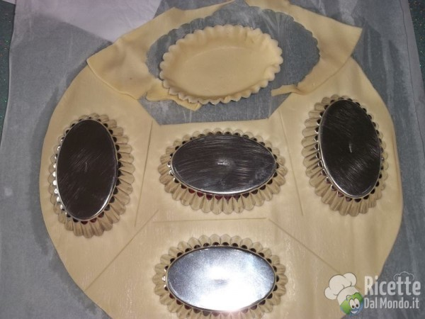 Tartellette con mascarpone e fichi caramellati 5