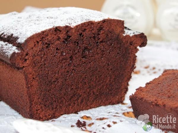 Plumcake soffice al cioccolato fondente
