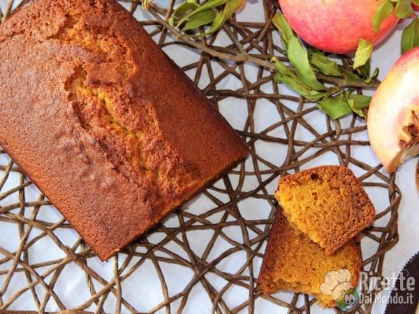 Ricetta plumcake alla zucca - Pumpkin Bread