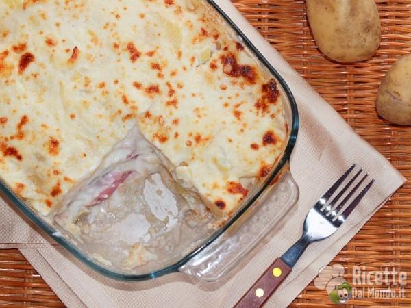 Parmigiana in bianco con le patate