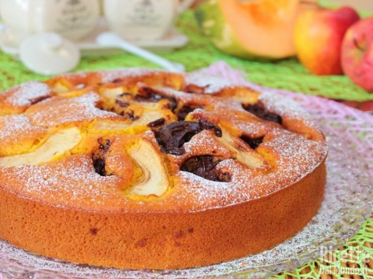 Come fare la torta di mele, zucca e Nutella