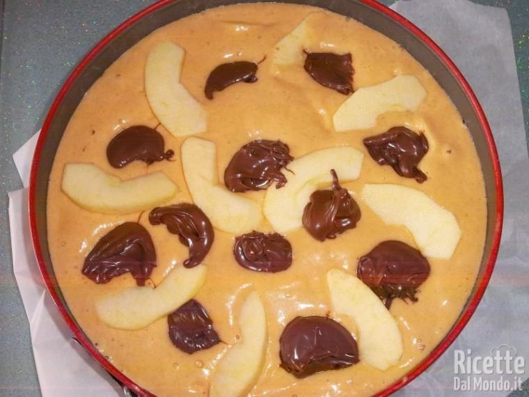 Torta di mele, zucca e Nutella 10
