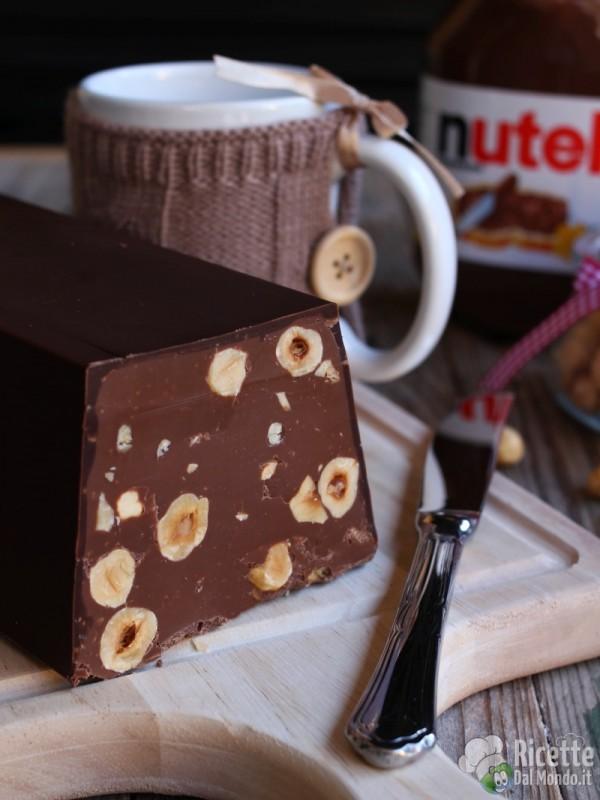 Come fare il torrone alla Nutella