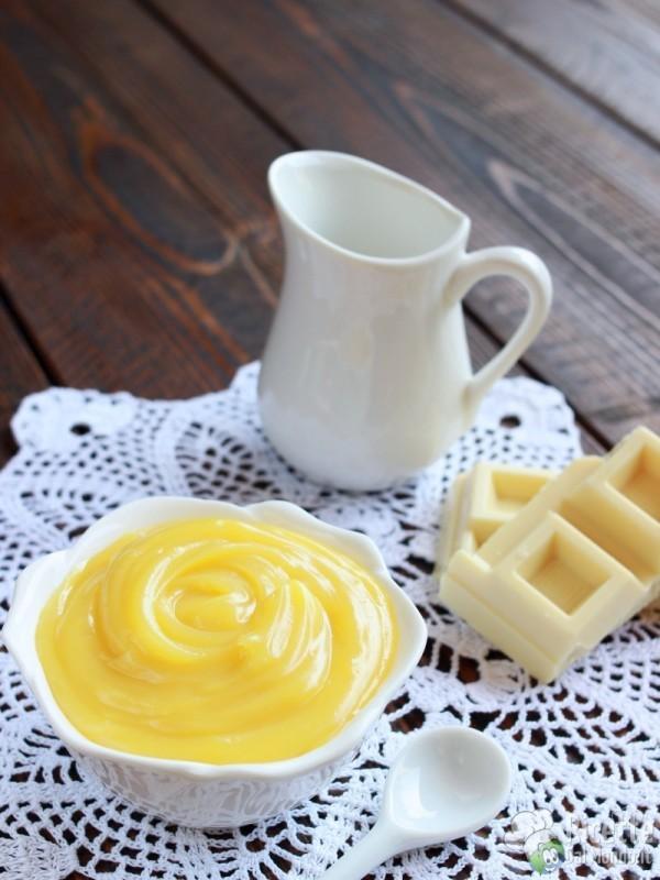 Come fare la crema pasticcera al cioccolato bianco
