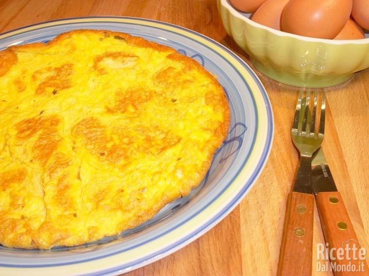 Come fare una frittata semplice di uova