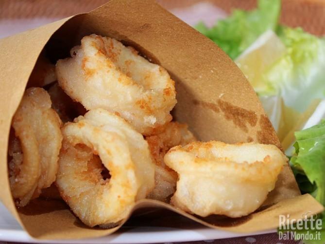 Come fare i calamari fritti