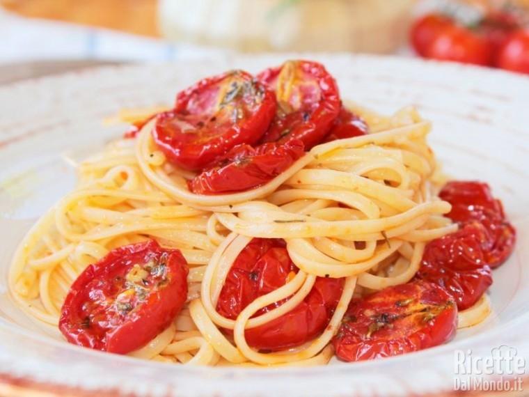 Come fare gli spaghetti ai pomodorini