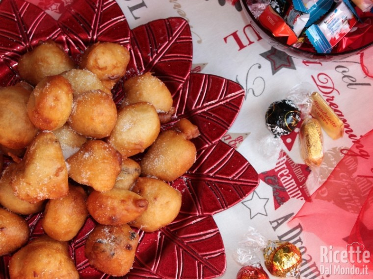 Frittelle Dolci Di Natale.Frittelle Dolci Di Natale Ricettedalmondo It