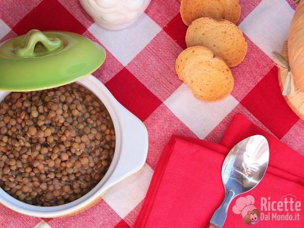 Come fare la zuppa di lenticchie
