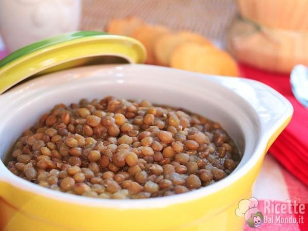 Zuppa di lenticchie invernale