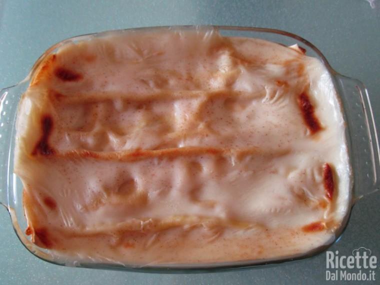 Lasagna al salmone 7
