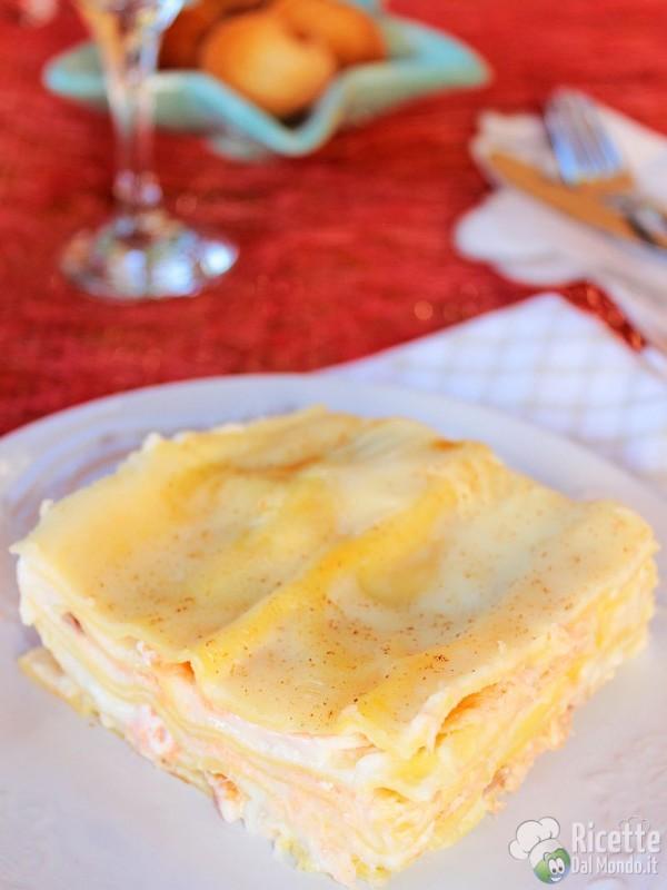 Come fare le lasagne al salmone al forno