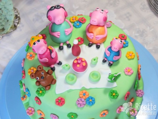 Torta di Peppa Pig in pdz